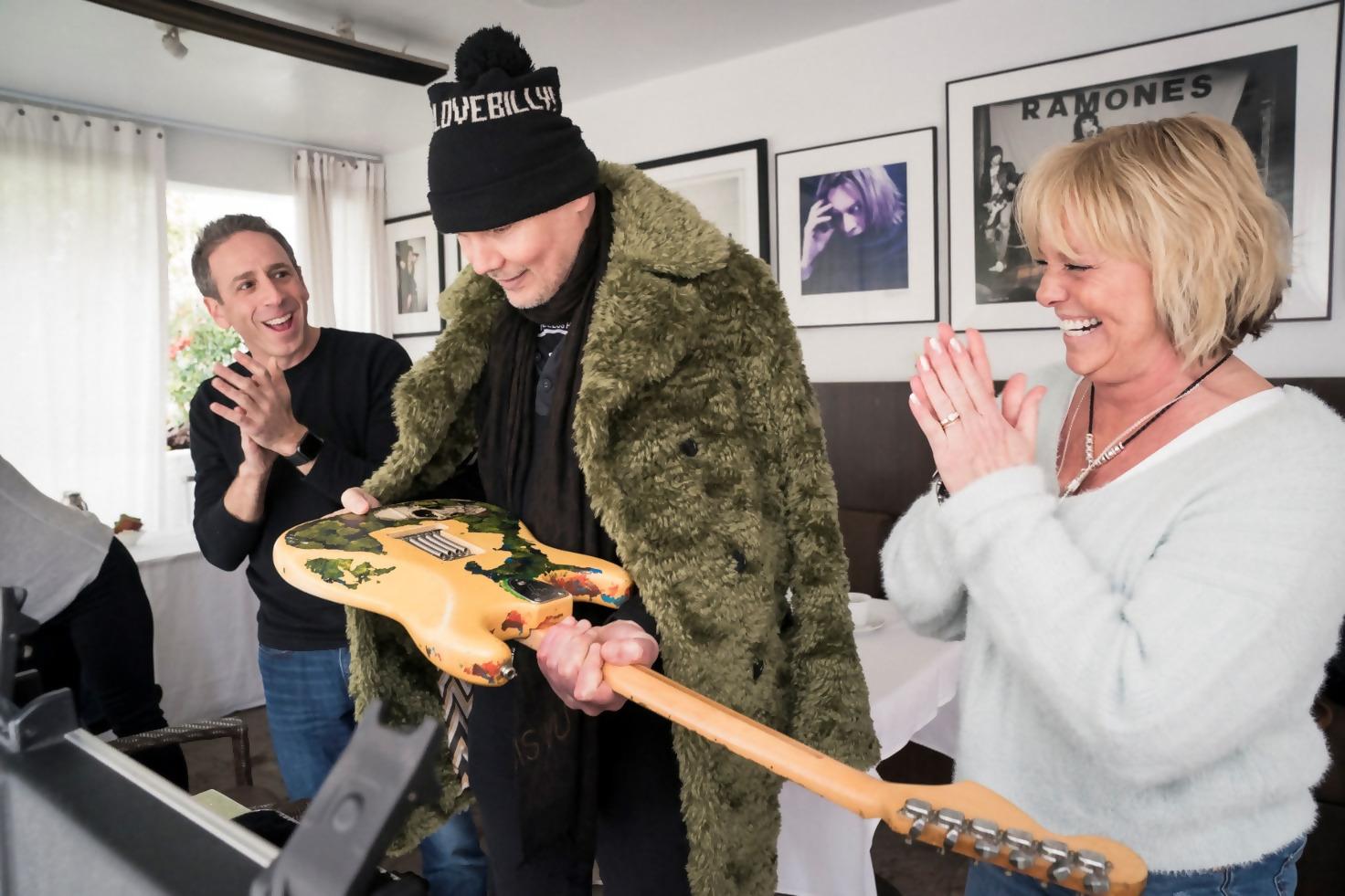 Billy Corgan Reunited With Stolen 'Gish' Guitar